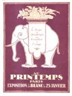 """PUB   MAGASINS  """" AU PRINTEMPS  """"  1921  ( 1 ) - Other"""
