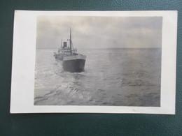 PHOTO  TRANSATLANTIQUE PAQUEBOT KENTUKET ?  CHERBOURG CALAIS LE HAVRE BATEAU FORMAT CPA - Boats