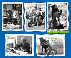 2002 - Le Siècle Au Fil Des Timbres - Vie Quotidienne - Série Complète - Frankreich