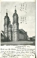 006812  Gruss Aus St. Gallen - Kathedrale  1902 - SG St. Gall