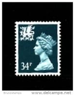 GREAT BRITAIN - 1989  WALES  34 P.  MINT NH   SG  W67 - Regionali