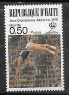 HAITI  N° 762  * *   Jo 1976  Saut En Hauteur - Athlétisme