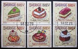 SUEDE                 N° 2046/2051             OBLITERE - Suède