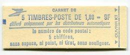 RC 11734 FRANCE CARNET 2220-C1 LIBERTÉ 5 TIMBRES A 1,80f MNH NEUF ** - Carnets