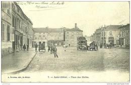 55 - SAINT MIHIEL / PLACE DES HALLES - Saint Mihiel