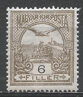 Hungary 1913. Scott #88 (M) ''Turul'' And Crown Of St. Stephen * - Nuovi