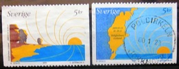 SUEDE                 N° 2134/2135             OBLITERE - Suède