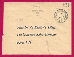 Enveloppe En Franchise Militaire - Poste Aux Armées - TOE - Secteur Postal 51 271 - Marcophilie (Lettres)