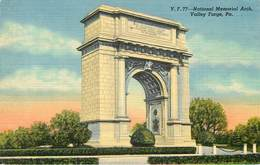 Etats-Unis - Cachets - Cachet Croix Rouge Au Dos - Pennsylvania - Philadelphia - National Mémorial Arch - Valley Forge - Philadelphia