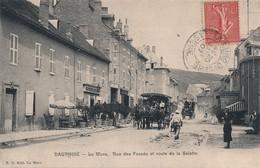 I76 - 38 - LA MURE - Isère - La Rue Des Fossés Et Route De La Salette - La Mure