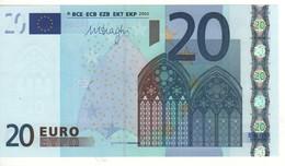 "20 EURO  ""S""  ITALIA    Firma  DRAGHI       J 036 F5   /  FDS - UNC - EURO"