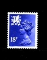 GREAT BRITAIN - 1981  WALES  18 P. MINT NH  SG  W46 - Galles