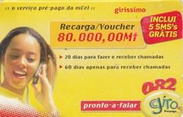 Mozambique -  Lady With A Phone - Moçambique