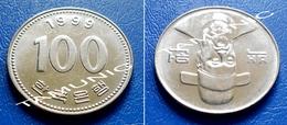 KOREA SOUTH 100 Won 1999 - ADMIRAL YI SOON-SHIN - Korea, South