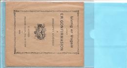 Livret De 22 Pages De 1930 En BRETON -Livrig Er Vugalé Aveit ER GONFIRMASION é Eskopti Guéned Réf 5848 - Non Classés