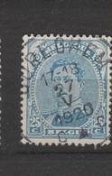 COB 141 Oblitération Centrale CUREGHEM - 1915-1920 Albert I