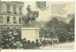 56 - VANNES / INAUGURATION DE LA STATUE DU CONNETABLE RICHEMONT Le 22 OCTOBRE 1905 - Vannes