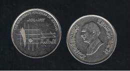 JORDANIA - 10 Piastres  1993  KM55 - Jordanie
