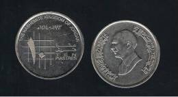 JORDANIA - 10 Piastres  1993  KM55 - Jordania