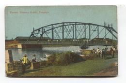 Tampico, Mexico - Puente Romero Rubio, Bridge, River, Donkey - Old Postcard - Mexique