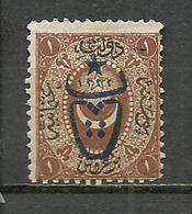 Turkey; 1917 Overprinted War Issue Stamp 1 K. (Signed) - Ungebraucht