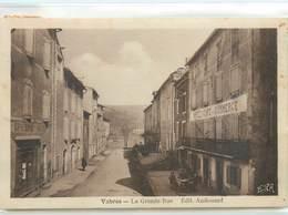 CPA 12 Aveyron Vabres La Grande Rue - Vabres