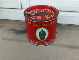 Boîte à Tabac Ronde Vide En Métal Prince Albert - 2ème Guerre Mondiale - 1939/1945 - 1939-45