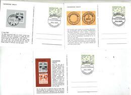 Lot 10 Carte Cachet Torshavn Illustre Philatelie - Danemark