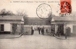 10109. CPA 65 TARBES. 14è D'ARTILLERIE. QUARTIER LARREY 1912 - Tarbes