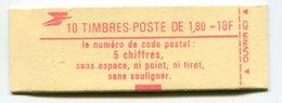 RC 11737 FRANCE CARNET 2220-C5 LIBERTÉ 10 TIMBRES A 1,80f MNH NEUF ** - Carnets