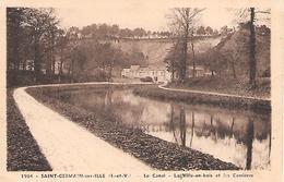 SAINT-GERMAIN-SUR-ILLE - ( 35 ) - Le Canal - Saint-Germain-sur-Ille
