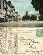 Ukraine Russia, LVIV LWOW Львів, Ul. Akademicka (1911) Postcard - Ukraine
