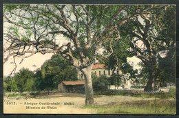 CARTOLINA CV2515 SENEGAL Africa Occidentale 1912 Missione Di Thiès, FP, Viaggiata Da Dakar Per L'Italia, Ottime Condizio - Senegal