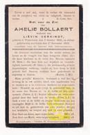 DP Amelie Bollaert ° Wijtschate Heuvelland 1845 † 1924 X Liévin Verkindt - Images Religieuses