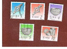 IRLANDA (IRELAND) -  SG 746.750    -  1990  IRISH HERITAGE    -   USED - 1949-... Repubblica D'Irlanda