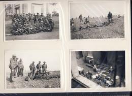 JL 1 Charleroi, 2e Chasseurs, Exercices En 38 Et Caserne Trésignies. Armée Belge Repros - 1939-45