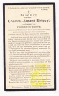 DP Charles A. Birlouet ° Wijtschate Heuvelland 1846 † 1936 X Florence Treve - Imágenes Religiosas