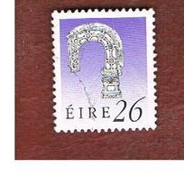IRLANDA (IRELAND) -  SG 752   -  1990  IRISH HERITAGE: BISHOP' S CROSIER  26   -   USED - 1949-... Repubblica D'Irlanda