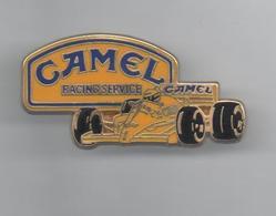 PINS PIN'S AUTO F1 CAMEL CIGARETTE AUTOMOBILE ARTHUS BERTRAND - Automobile - F1