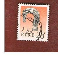 IRLANDA (IRELAND) -  SG 753   -  1991  IRISH HERITAGE: BISHOP' S CROSIER  28   -   USED - 1949-... Repubblica D'Irlanda