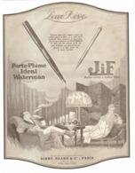 "PUB  STYLO-PLUME  "" IDEAL WATERMAN   ""    1922  (11) - Stylos"