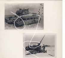 JL 1 Dunkerque Mai 40 Débris De La Bataille 2e Guerre Armée Britannique Repros - 1939-45