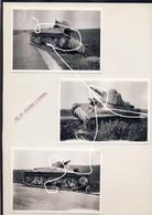 JL 1 Mai 40 Chars Français Hotchkiss 1e DCR Blindé Abandonné à Fontaine-Valmont 2e Guerre. Repros - 1939-45