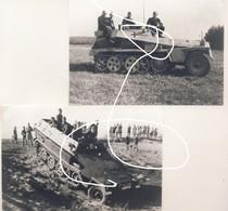 JL 1 Wehrmacht Heer 2e Guerre Semi-chenillés. Halbkettenfahrzeug. Repros - 1939-45