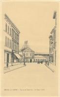 CPA - Belgique - Braine-le-Comte - Rue De La Station - La Gare - Braine-le-Comte
