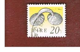 IRLANDA (IRELAND) -  SG 751   -  1991 IRISH HERITAGE:  GOLD DRESS FASTENER   -   USED - 1949-... Repubblica D'Irlanda