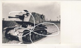 JL 1 Wehrmacht Heer Char Alllmand Panzer Sur Chassis Français. Marder. Repro - 1939-45