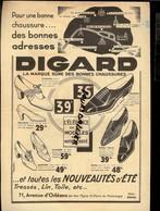 IMAGES DEVINETTES En Couleurs Façon Image D'Epinal  Au Dos DIGARD Chaussures 71 Av Orléans PARIS - Publicités