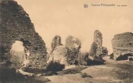 CPA - Belgique - Sautour-Philippeville - Les Ruines - Philippeville
