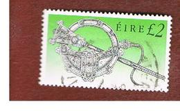 IRLANDA (IRELAND) -  SG 764   -  1990 IRISH HERITAGE: TARA BROOCH   -   USED - 1949-... Repubblica D'Irlanda